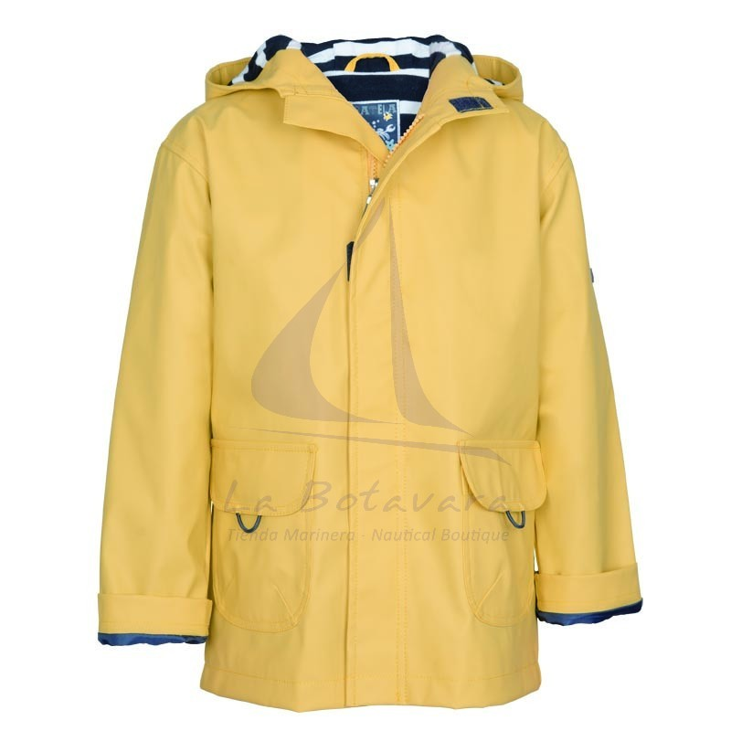 YELLOW BATELA RAINCOAT FOR BOY