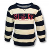 STRIPED BATELA SHARK SWEATSHIRT