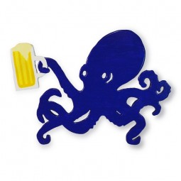BEER-OCTOPUS FOR NAUTICAL DECOR