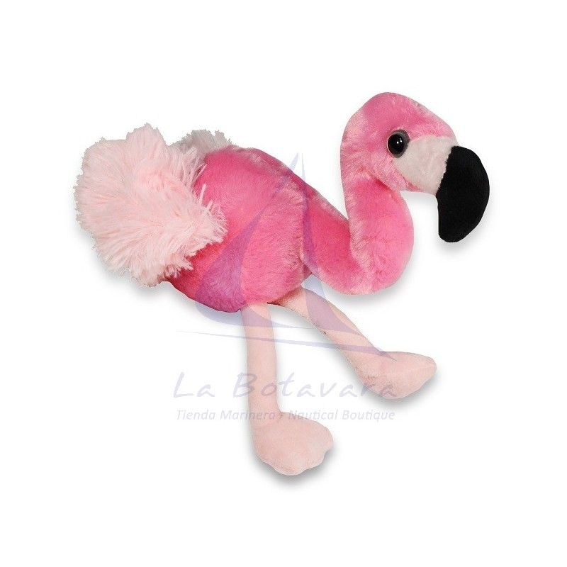 PELUCHE FLAMENCO 15CM WILD REPUBLIC