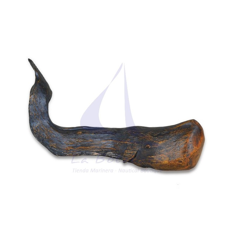 RUSTIC SPERM WHALE FOR NAUTICAL DECOR