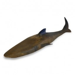 WOOD SHARK FOR SEASIDE DECOR