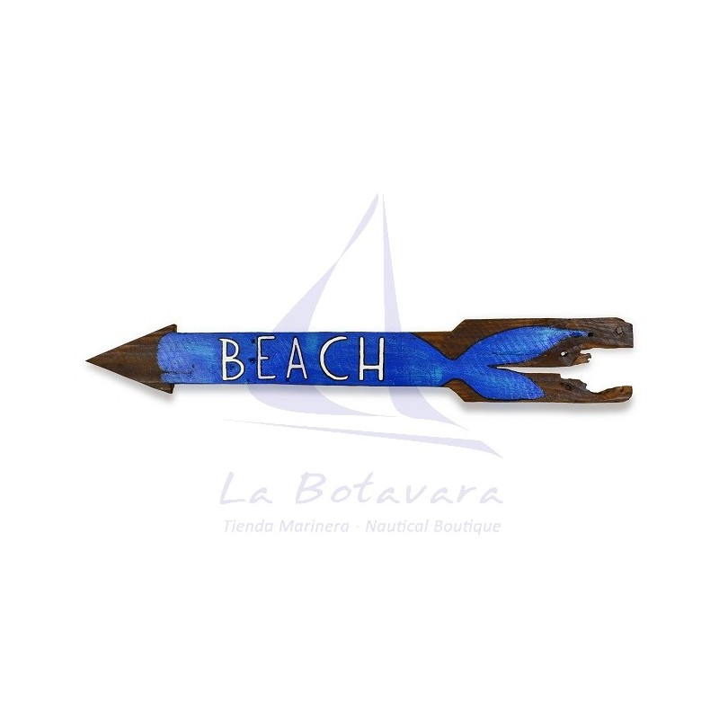 TABLA BEACH DECORACION MARINERA