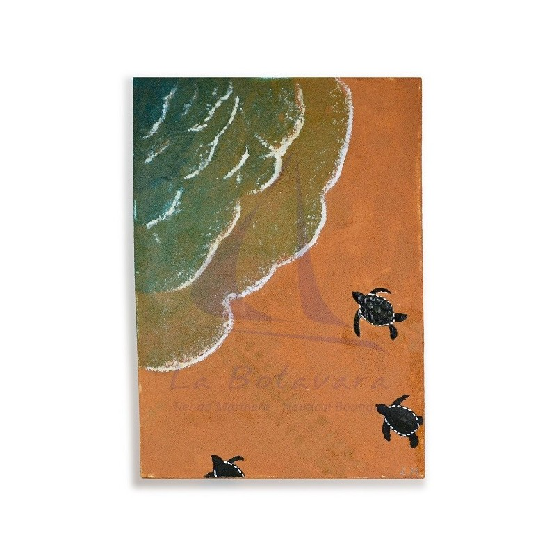 SAND & TURTLES PAINTING