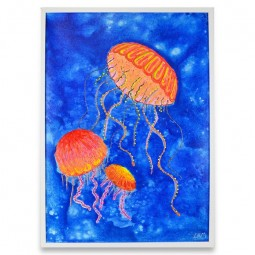 JELLYFISH PAINTING