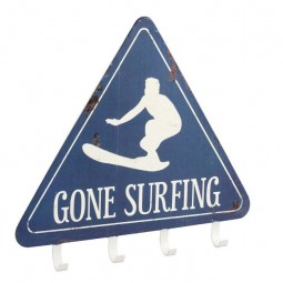 GONE SURFING COAT RACK