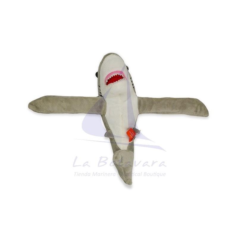 HUGGER WHITE SHARK PLUSH TOY