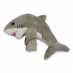 HUGGER WHITE SHARK PLUSH TOY