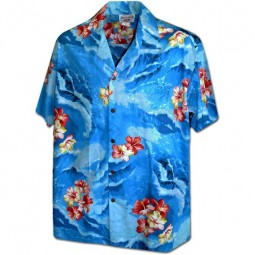 RED FLOWERS HAWAIIAN SHIRT