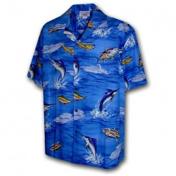 CAMISA HAWAIANA PECES PACIFIC LEGEND