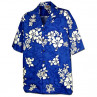 WHITE FLOWERS PACIFIC LEGEND HAWAIIAN SHIRT