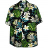 TROPICAL FLOWERS PACIFIC LEGEND HAWAIIAN SHIRT