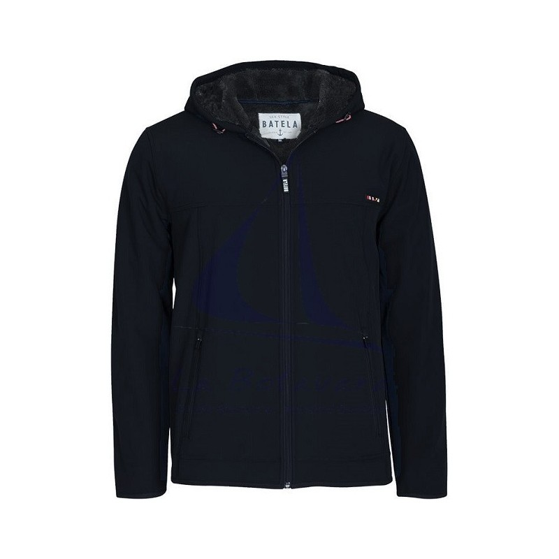 BATELA NAVY BLUE WINTER SOFTSHELL