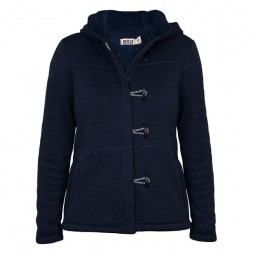 BATELA NAVY BLUE WINTER WOMAN DUFFEL COAT