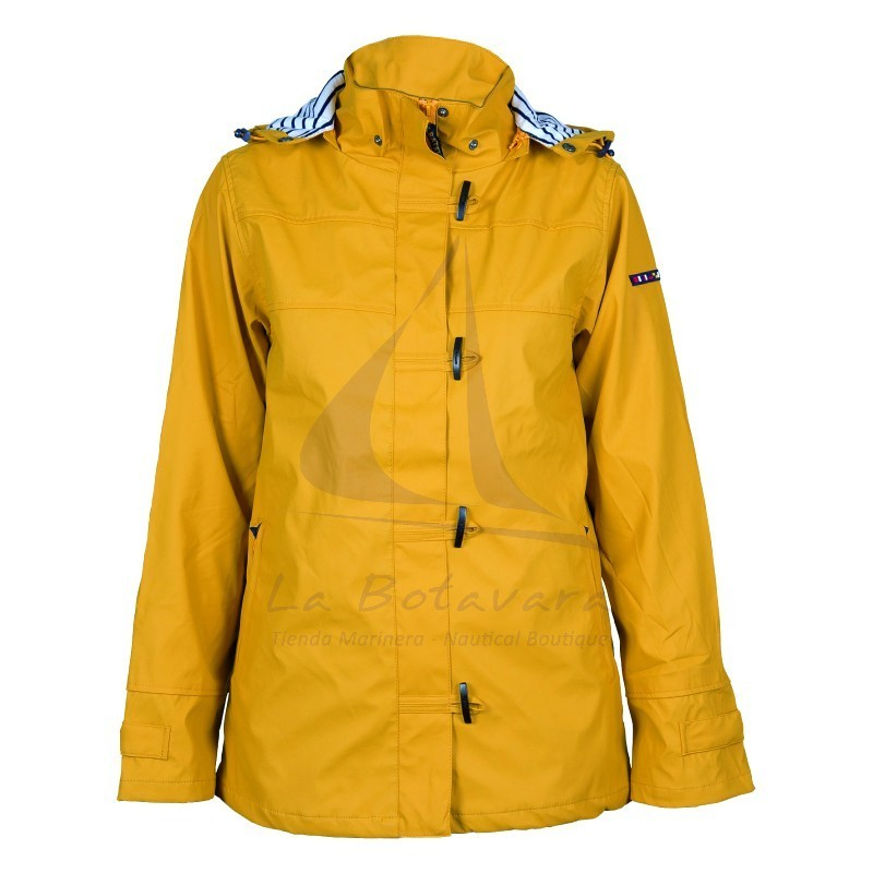 YELLOW BATELA RAINCOAT FOR WOMAN