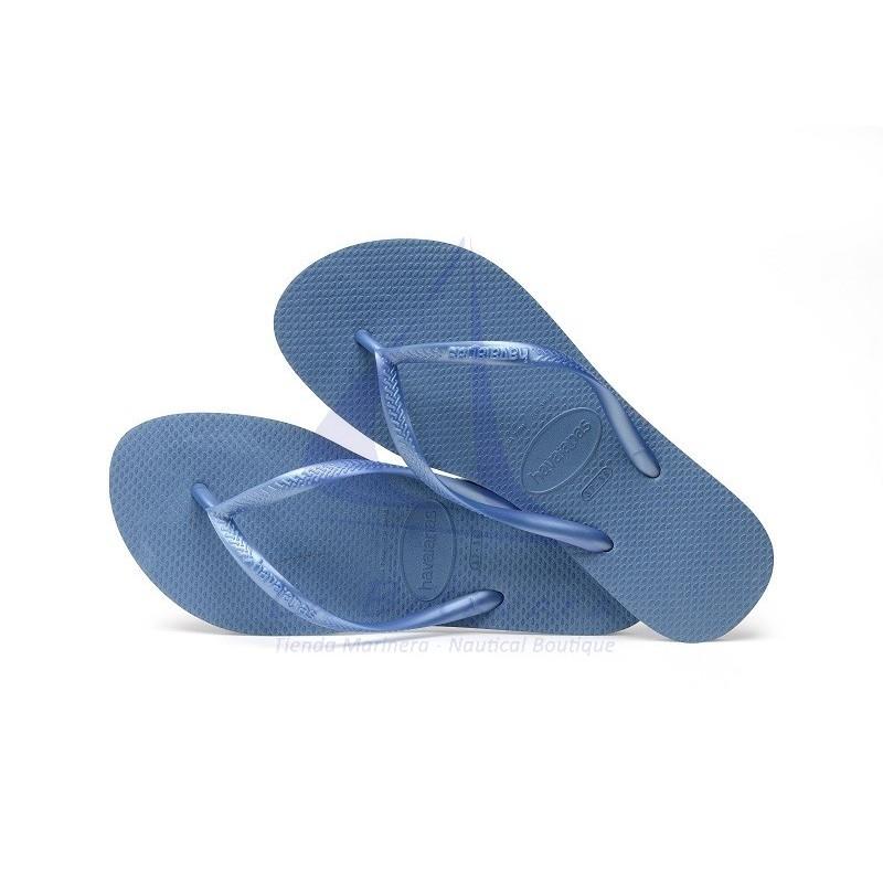 Chanclas Havaianas Slim azules