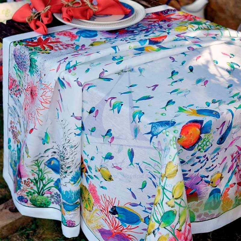 Mantel italiano Belize de Tessitura Toscana Telerie