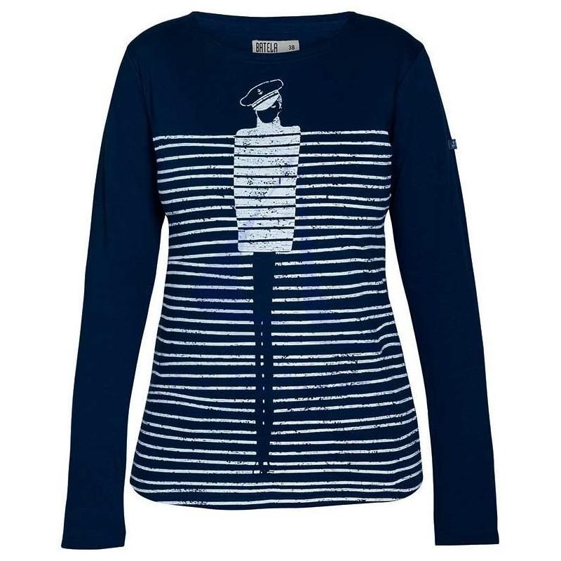 Camiseta mujer Batela con personaje marinero