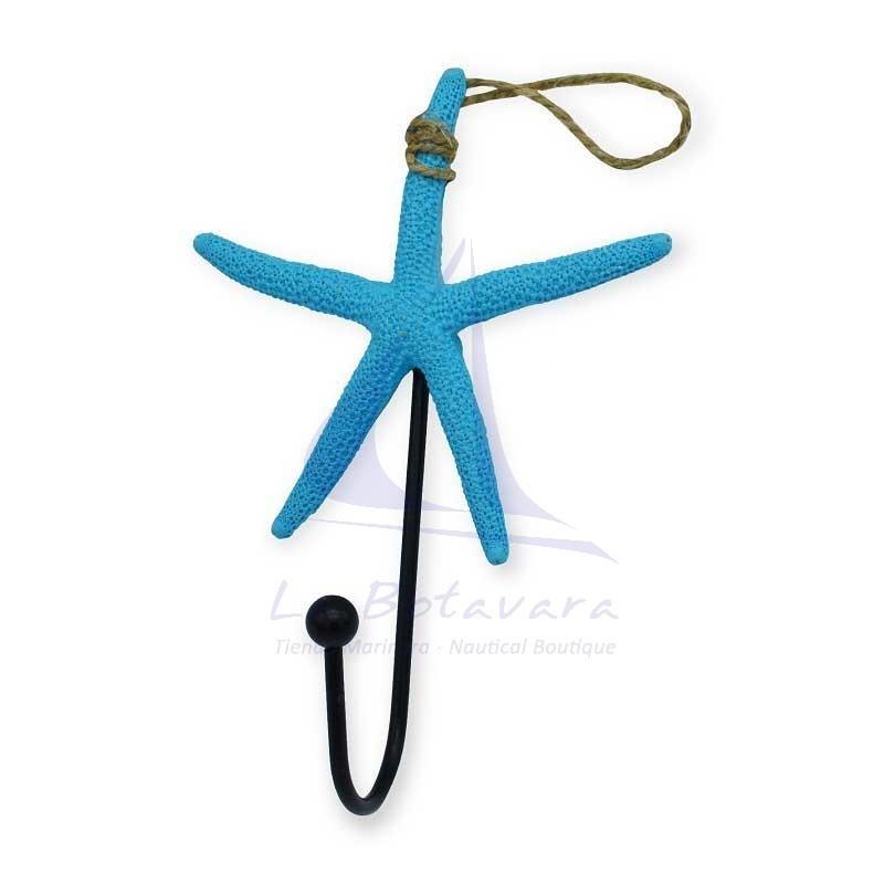 Blue starfish hanger