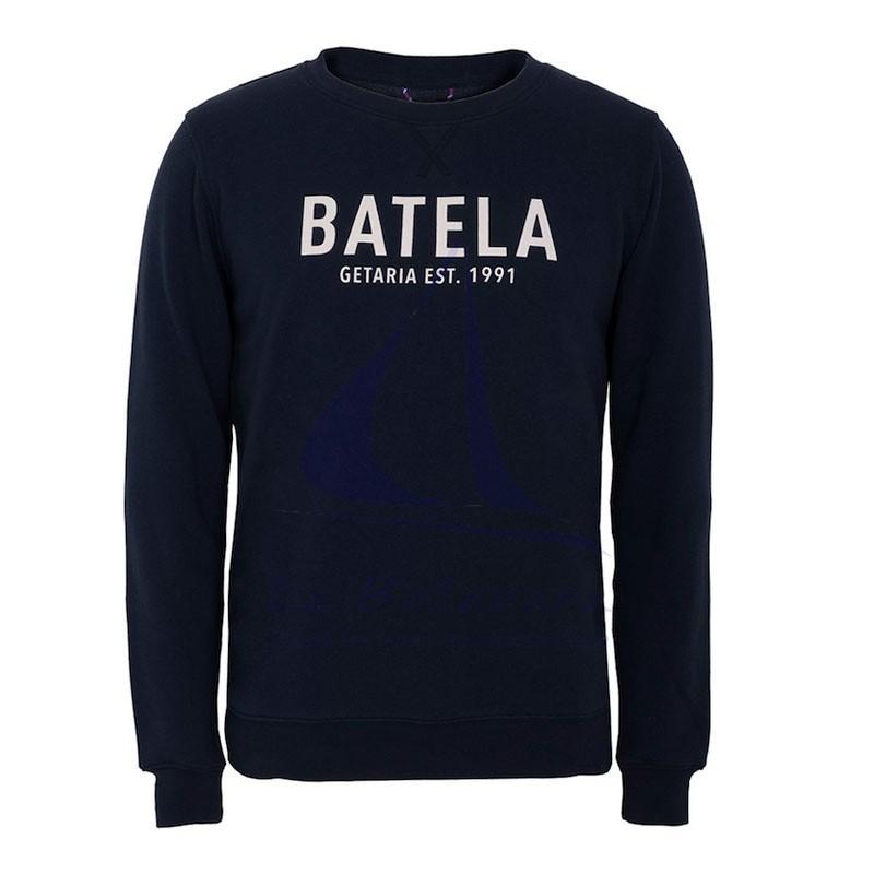 Batela navy blue man sweatshirt available in several colors