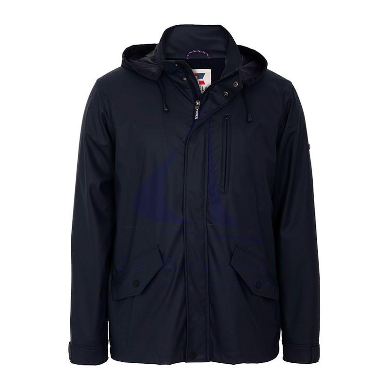 Navy blue Batela C3013 raincoat for man