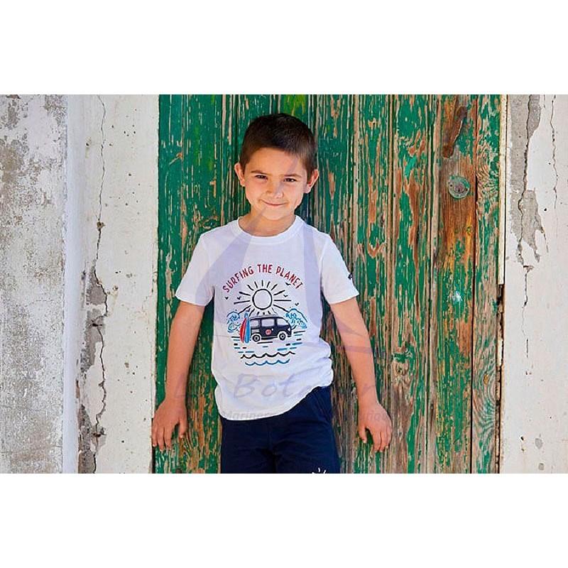 Camiseta Batela niño surfing the planet 2
