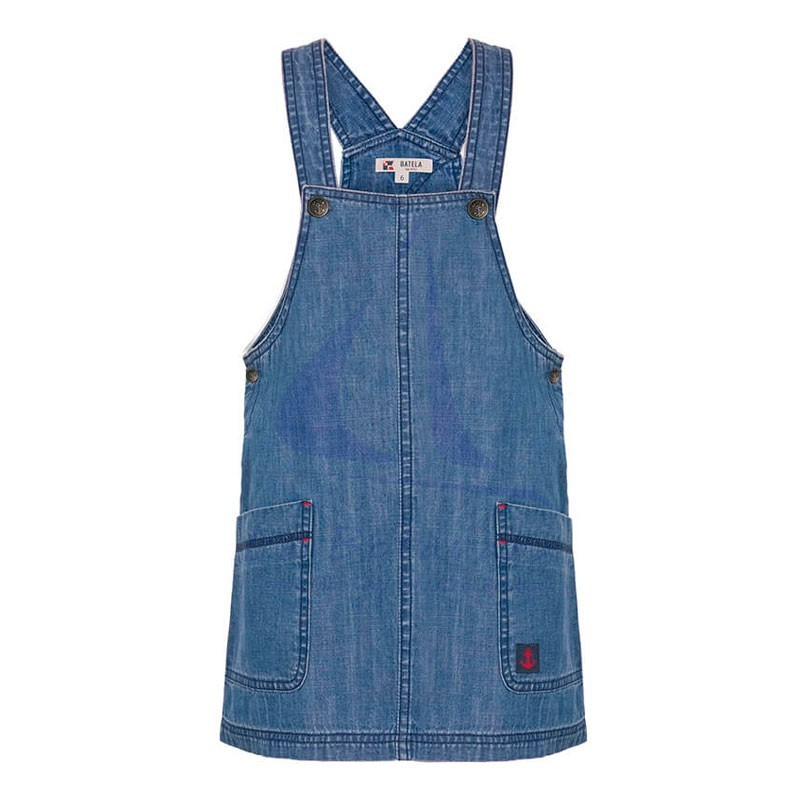 Batela denim overalls for girl.