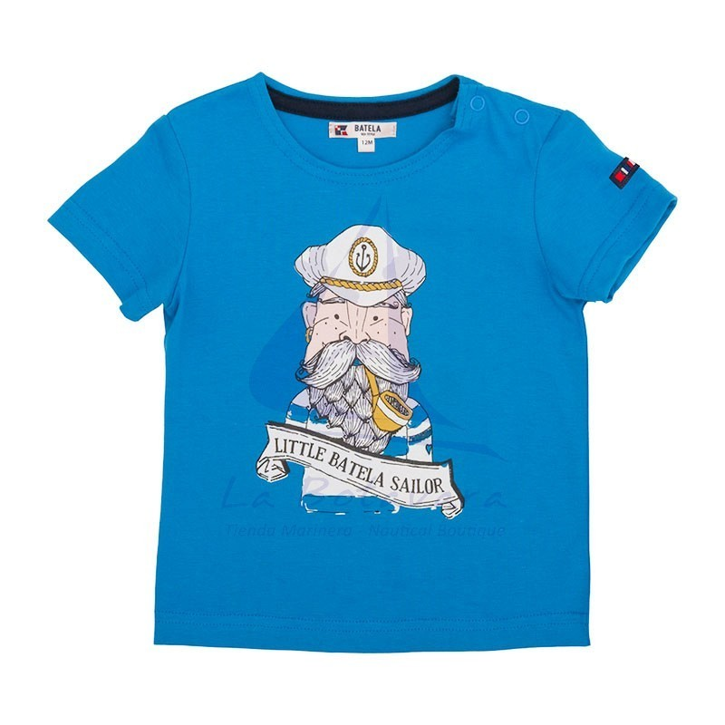 Camiseta bebe Little Batela Sailor
