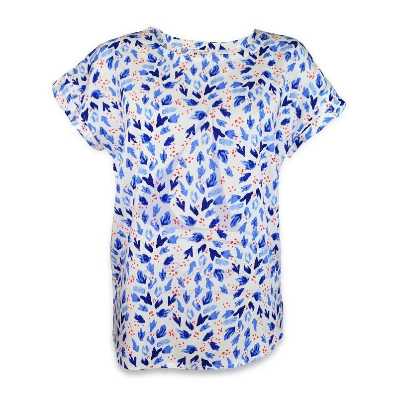 Batela short sleeve viscose anemone t-shirt