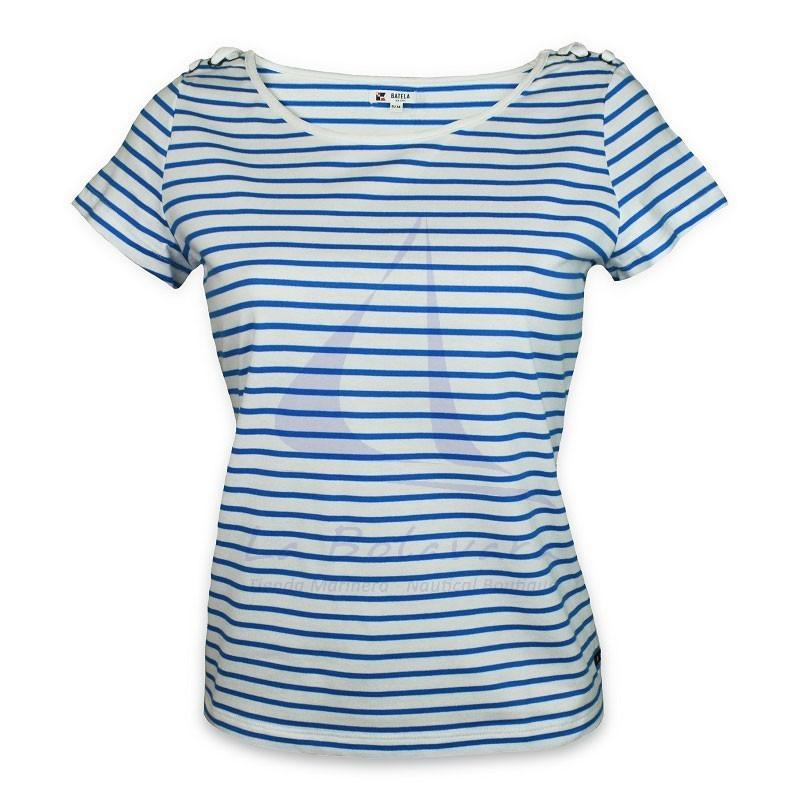 Camiseta Batela de mujer con cuello redondo