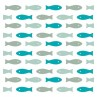 Pack 20 tricolor fishes paper napkins