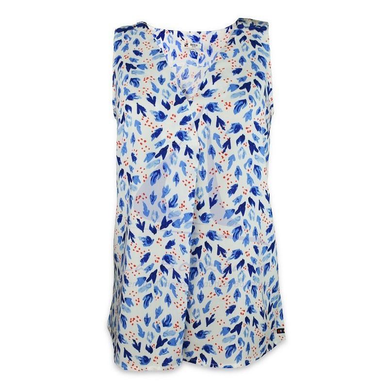 Blusa Batela de mujer sin mangas con anemonas
