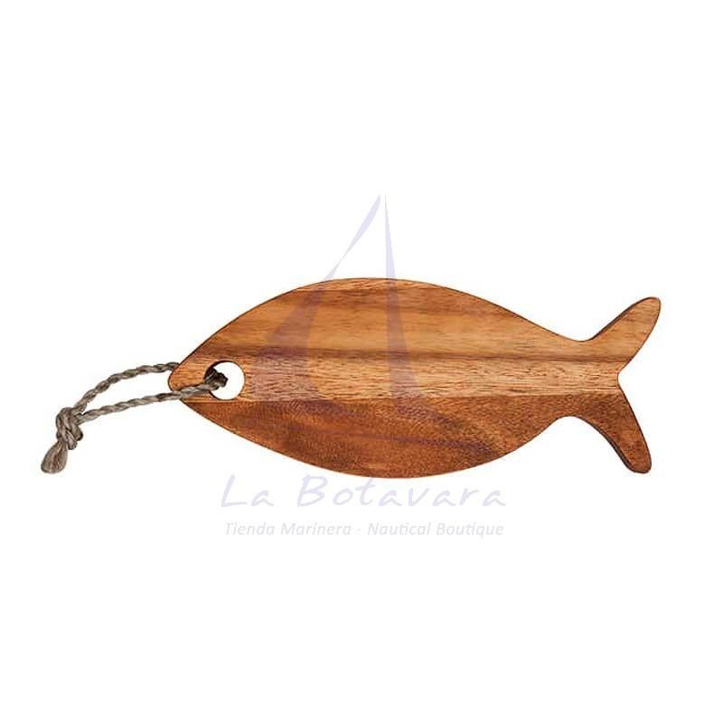 Tabla de cortar con forma de pez