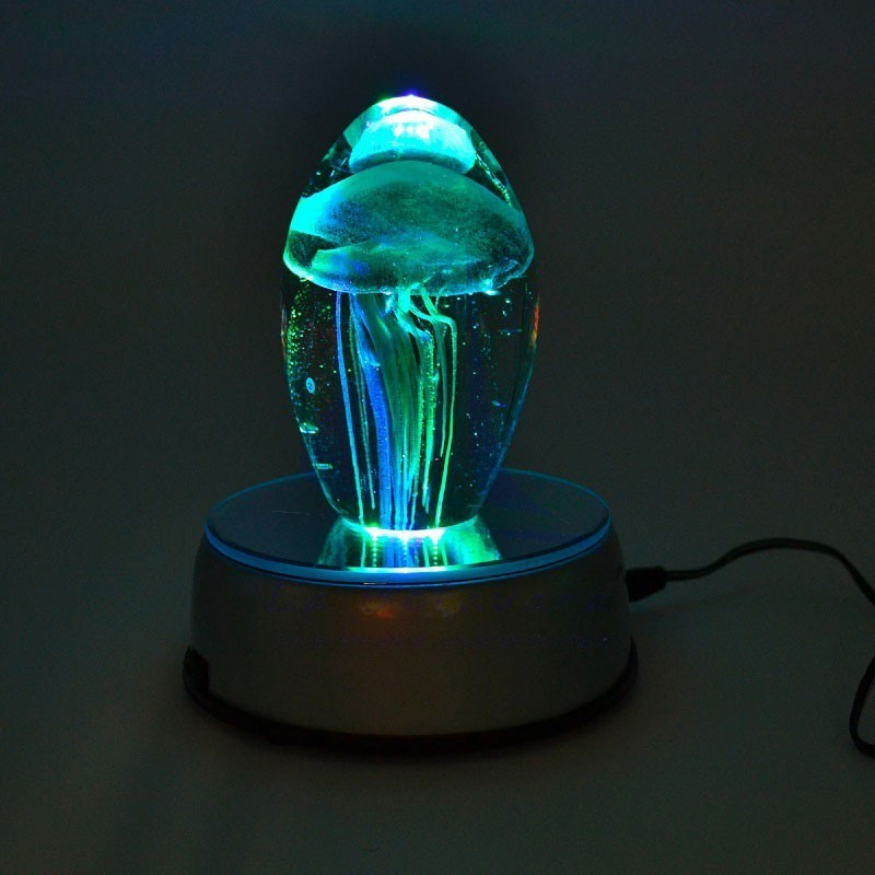 LED rotating lamp with mirror 2