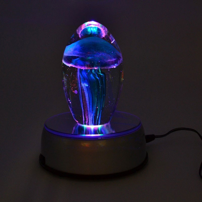 LED rotating lamp with mirror 3