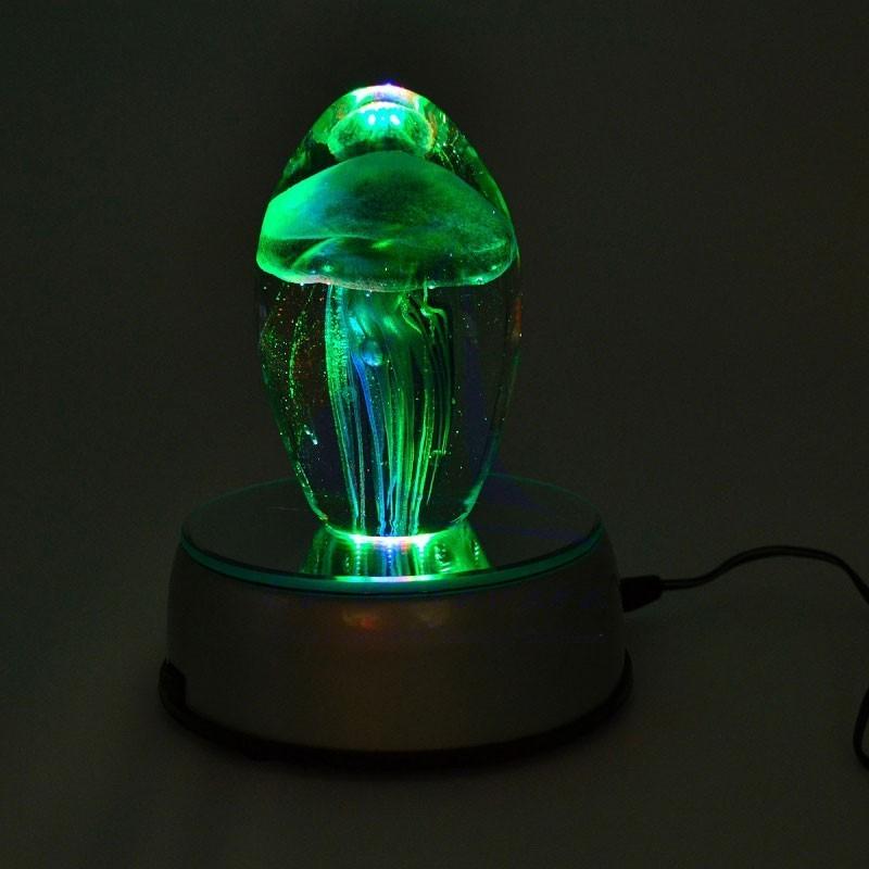 Lámpara giratoria LED con espejo 5