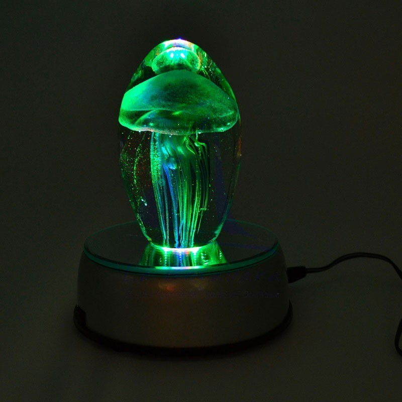 LED rotating lamp with mirror 5