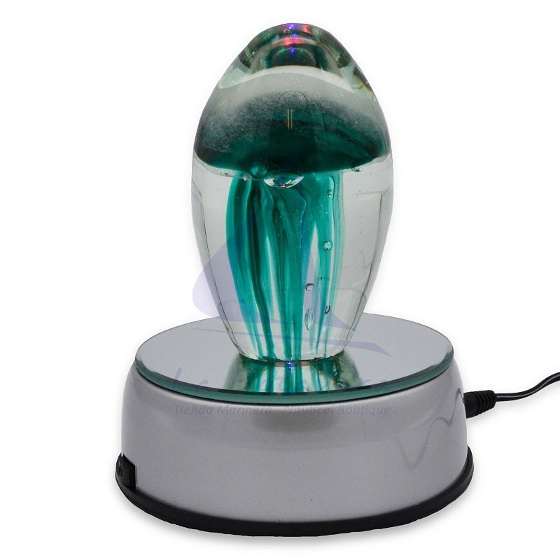 LED rotating lamp with mirror 4