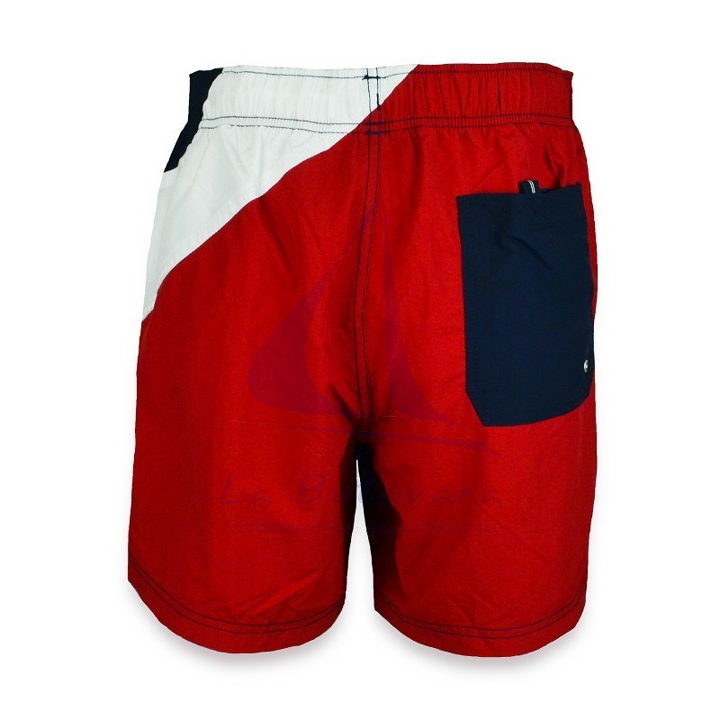 Tricolor Nautica flags swimtrunks 3