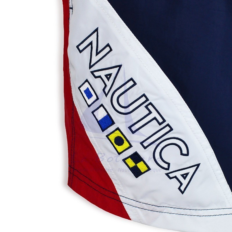 Tricolor Nautica flags swimtrunks 2