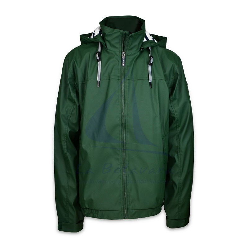 MEN'S BATELA GREEN RAINCOAT C3050
