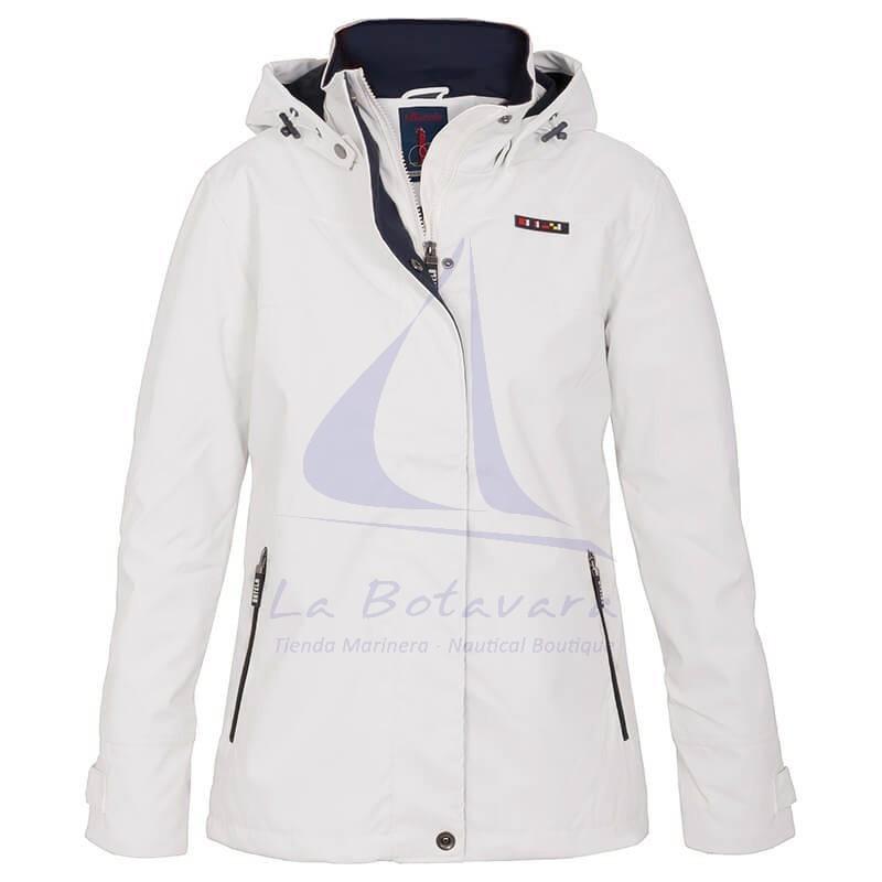 Batela women's raincoat with polar fleece