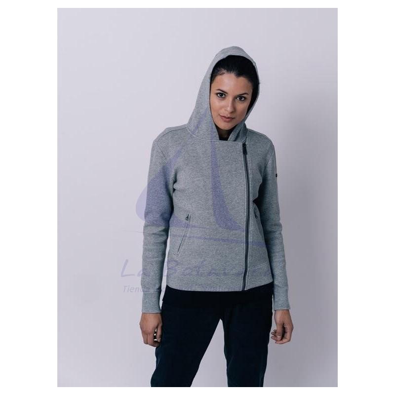 Grey Batela crossed jacket for women