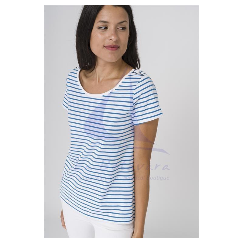 Camiseta Batela de mujer con cuello redondo 3
