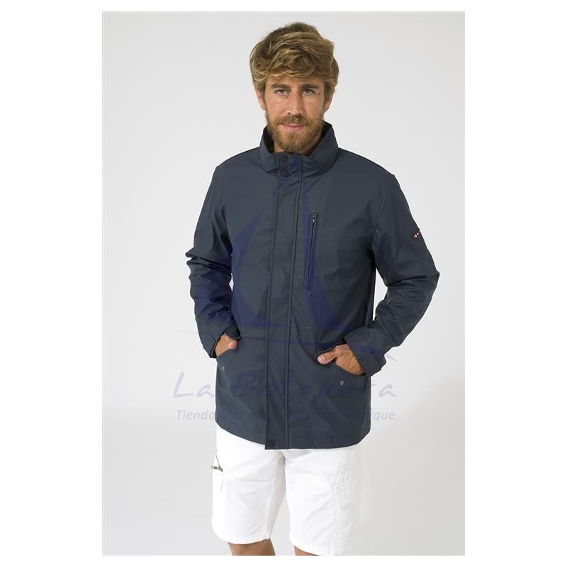 Navy blue Batela C3013 raincoat for man 2