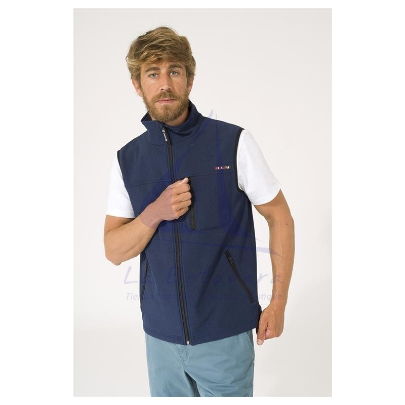 Batela softshell vest for man 3