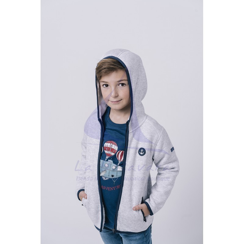 Off white Batela shearling jacket for boys 2
