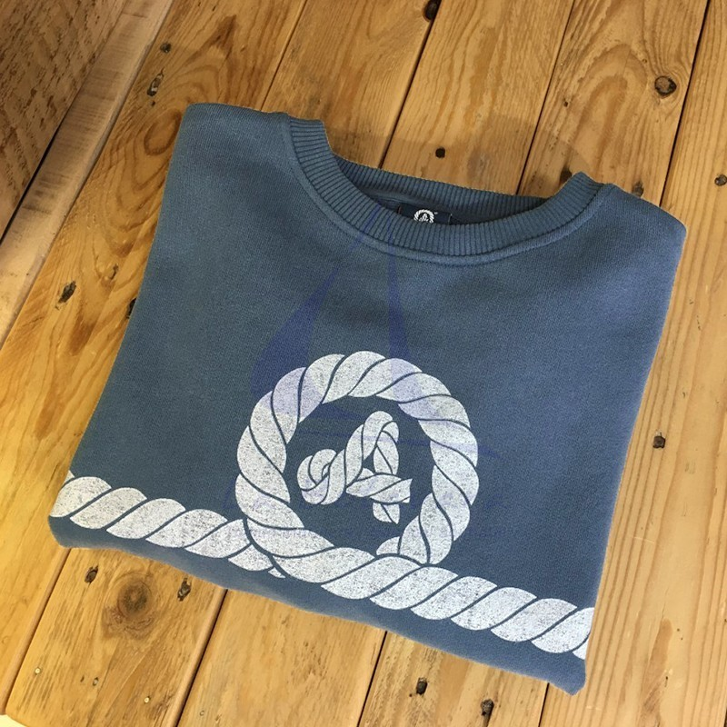 Navy blue Amarras sweatshirt varadero