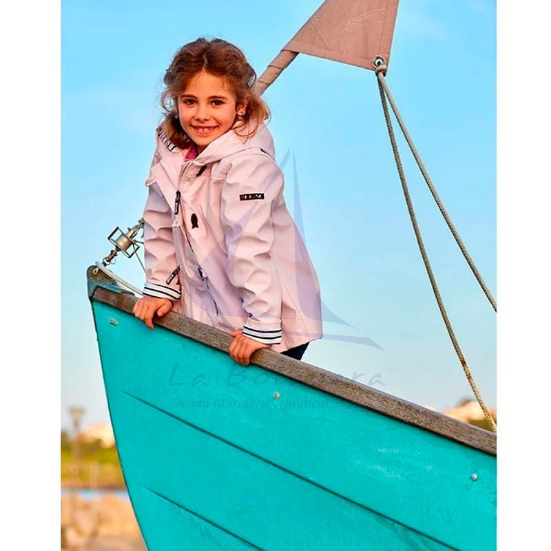 PINK BATELA RAINCOAT FOR GIRL 4