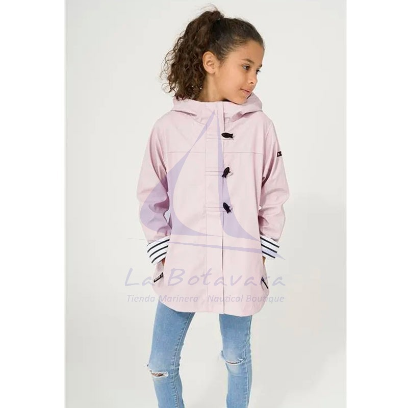 PINK BATELA RAINCOAT FOR GIRL 3